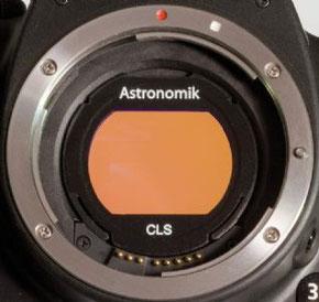 Der von uns verwendete Astronomic H-alpha 12nm Clipfilter