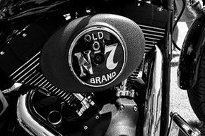 Harley Davidson old no 7 Detailansicht