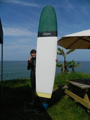 今日も波は無いですが、朝からパドリング練習in   定例会!日頃が大事ですよ~!