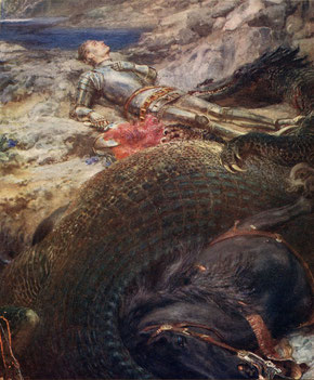 St. Georges et le Dragon (1908-09; Musée des beaux-arts de Montréal)