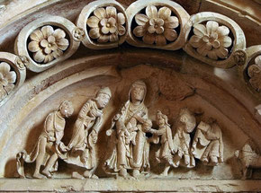 Vézelay, chapiteau du portail sud