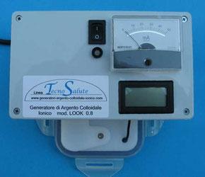 Generatore di Argento Colloidale Ionico Look 0.8