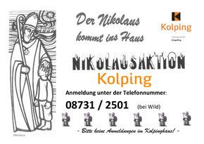 Nikolausaktion der Kolpingsfamilie Dingolfing