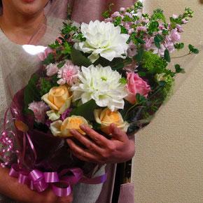 相方は毎年誕生日に花束をくれる