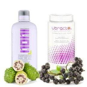flüssige Alternative: Noni Extra Plus und Libractol zum Trinken