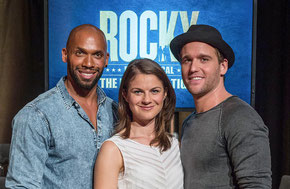 "The leading roles of ""Rocky"" ©Stage Entertainment"