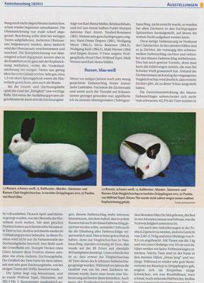 Kaninchenzeitung 10/2013 S. 51