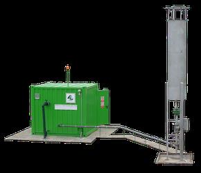 Flare biogas -antorcha biogas - biodigestor - flares biogas