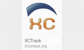 xc track est un ordinateur de bord pour le parapente qui fonctionne sous android