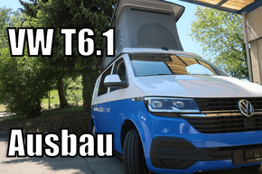 VW T6.1 Ausbauvideo
