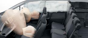 運転席用&助手席用SRSエアバッグは全タイプに装備