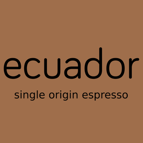 ecuador, single origin espresso