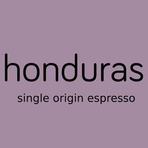 honduras, single origin espresso