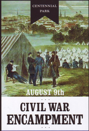 A Civil War encampment is coming to Centennial Park [contributed]