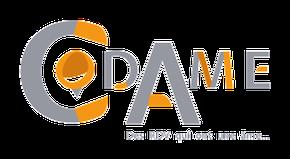 Création du logo pour l'association Codame de Jouet-sur-l'Aubois par Cloé Perrotin