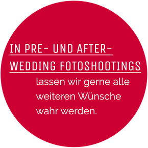 pre- und after-wedding fotoshootings