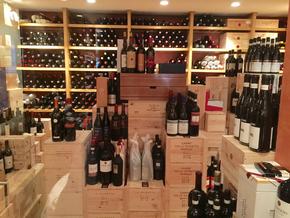 Weinklimaschrank im Ristorante Gallo Nero