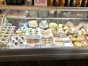 Lebensmittel im Bistro Lorenzino