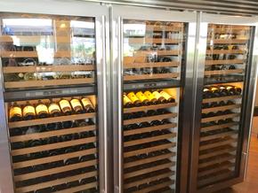 Weinklimaschrank im Ristorante I Vigneri