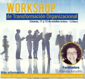 1er Workshop de Transformación Organizacional - Caracas