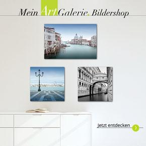 online shop, Artgalerie,