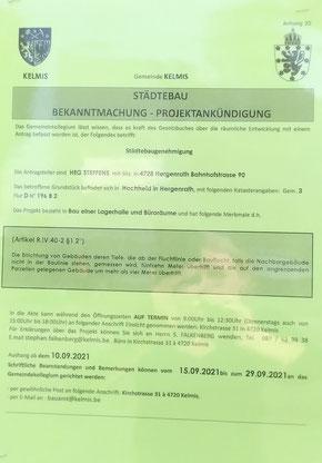 Gift. Hergenrath, Steffens, HEG, Dioxine, Krebs, Lagerhalle, Hochheid, Adapta