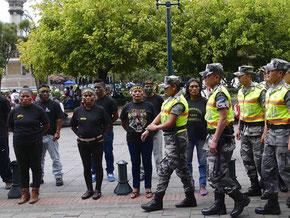 Quito, 15 août 2015, Place de l'Indépendance