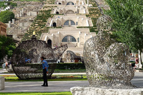 Erevan: la cascade