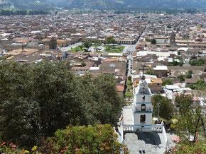 Cajamarca depuis Santa Catalina