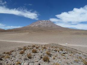 Le volcan Ollagüe 5869m