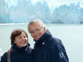 Au glacier Perto Moreno 25/01/2014