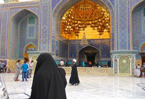 Qom: le Mausolée de Fatima