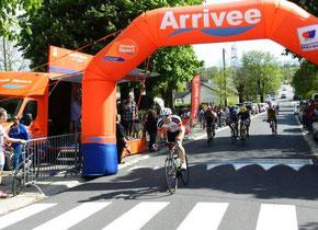 Loïc prend la troisième place au sprint