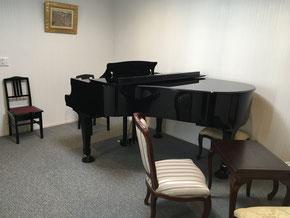 奏の会ピアノ教室 野々市教室のレッスン室