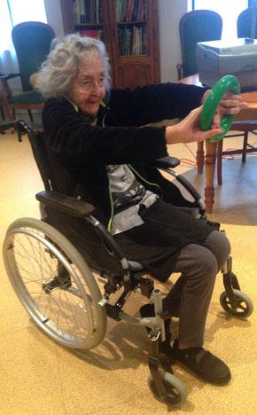 Juliette, doyenne de 104 ans