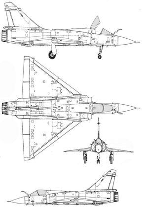 Mirage 2000N Ramex delta team display