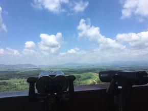 Sicht nach Nordkorea