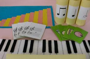 手作りピアノレッスン教材
