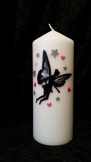 Elfe mit Schmetterling und Sternen
