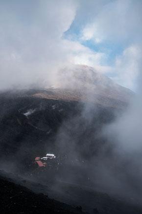 Ätna; Etna; Vulkan; Europa; Wolken; Krater