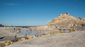 Vulcano; Terme di Vulcano: Schwefelduft; Äolische Inseln, Sizilien