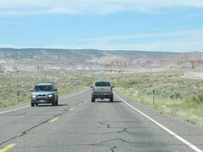 Unterwegs zum Bryce Canyon