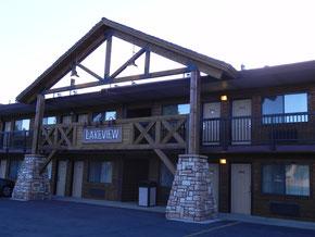 """Unser Hotel """"Ruby´s Inn"""" - gebucht hatten wir die """"Lakeview Lodge"""""""