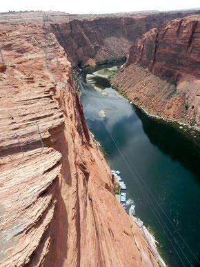 ...die andere Seite des Glen Canyon Dam´s