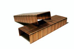 Agrafes pour la fermeture de caisses carton - Stanley Bostitch C