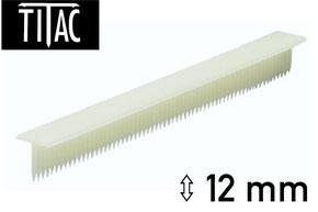 Broches en plastique Titac 12 mm