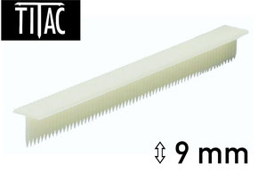Broches en plastique Titac 9 mm