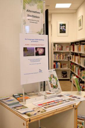 Info-Stand zur Ausstellung - Foto: Michael Wohl-Iffland