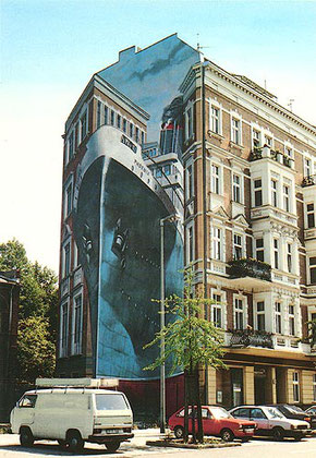 Gert Neuhaus Wandbild/Mural Phoenix
