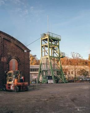 Bergwerk Zeche Concordia, Oberhausen, Ruhrgebiet, Deutschland, Industriekultur, Industrie, Zechen, Bergbau, Steinkohle